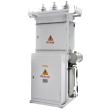 Pole-top transformer substations KTPM-25 ... 250/6 (10)/0,4-U1